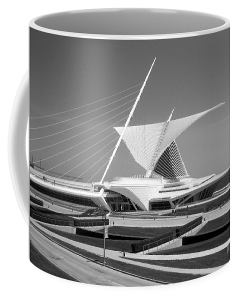 Mam Coffee Mug featuring the photograph Mam In Bw by Anita Burgermeister