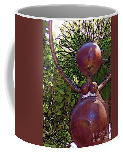 Sculpture Coffee Mug featuring the photograph Mama Tool by Debbi Granruth