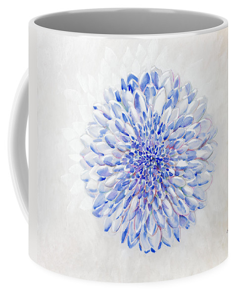 Flower Coffee Mug featuring the painting Man In The Mirror by Jerome Lawrence