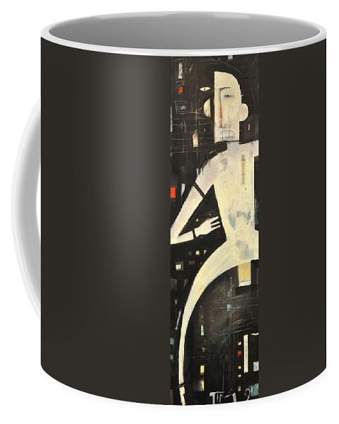 Man Coffee Mug featuring the painting Man With Loin Cloth by Tim Nyberg
