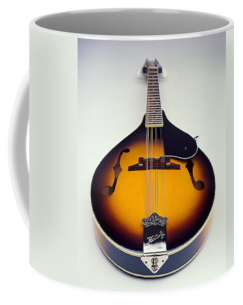 Mandolin Coffee Mug featuring the photograph Mandolin by Robert Ponzoni