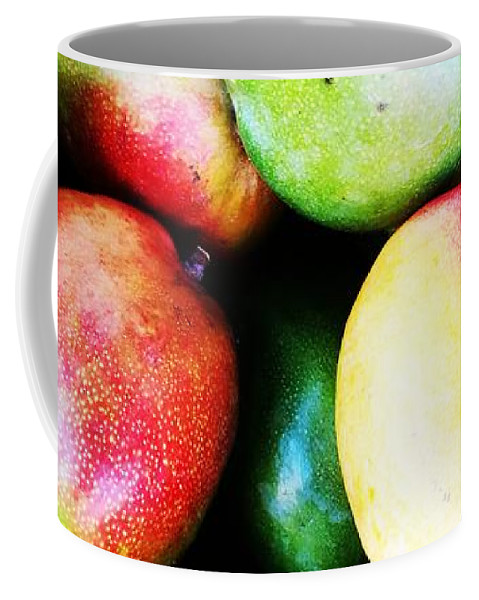 Food And Beverage Coffee Mug featuring the photograph Mangoes by Jarek Filipowicz