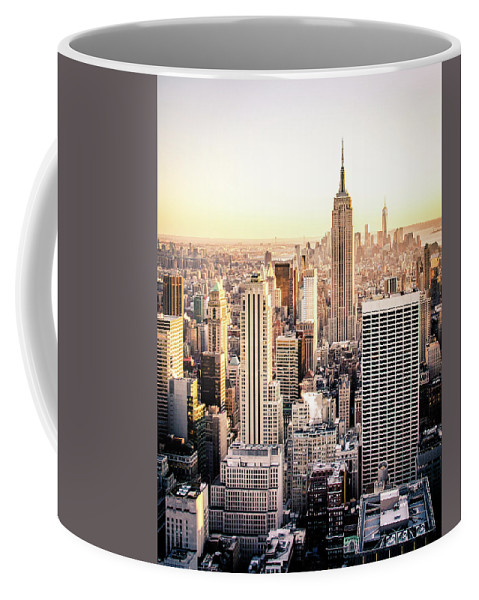 Nyc Coffee Mug featuring the photograph Manhattan by Michael Weber