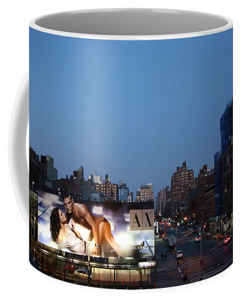 Manhattan Coffee Mug featuring the photograph Manhattan View From The High Line by Madeline Ellis