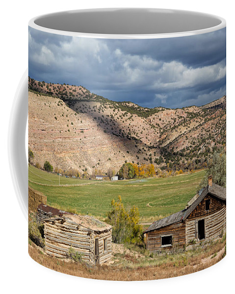 Manila Coffee Mug featuring the photograph Manila Homestead by Kathleen Bishop