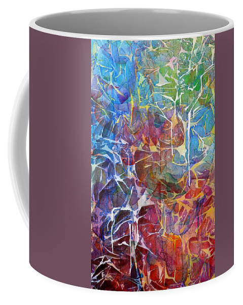 Abstract Coffee Mug featuring the painting Manna by Arlissa Vaughn