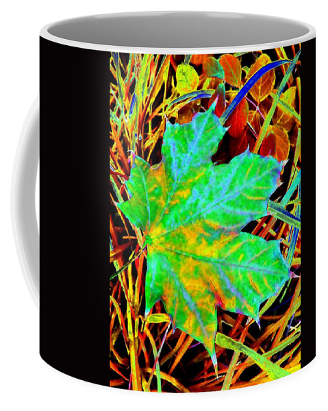 Maple Leaf Coffee Mug featuring the photograph Maple Mania 21 by Will Borden