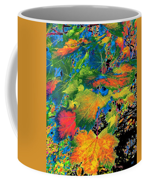 Photo Design Coffee Mug featuring the digital art Maple Mania 3 by Will Borden