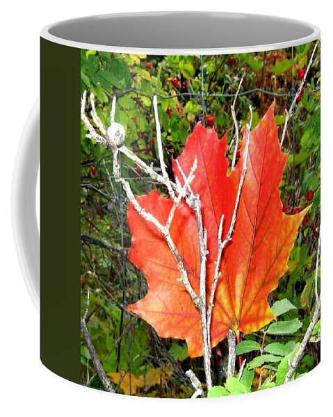 Autumn Coffee Mug featuring the photograph Maple Mania 6 by Will Borden