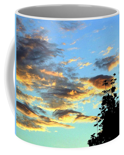 Maple Tree Coffee Mug featuring the photograph Maple Silhouette by Will Borden