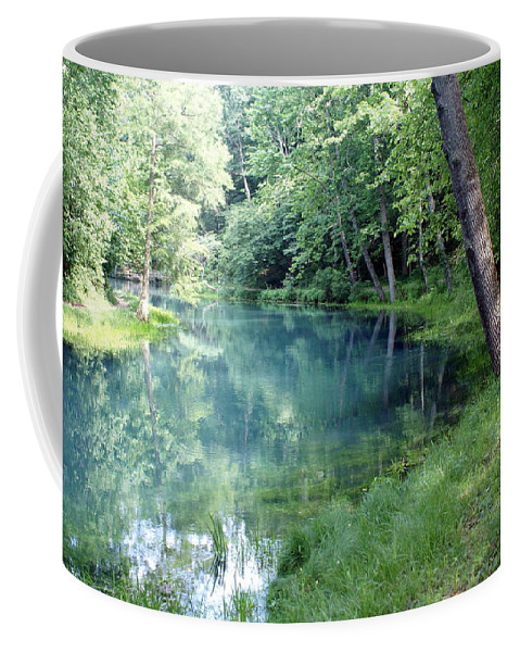 Maramec Springs Park Coffee Mug featuring the photograph Maramec Springs 1 by Marty Koch
