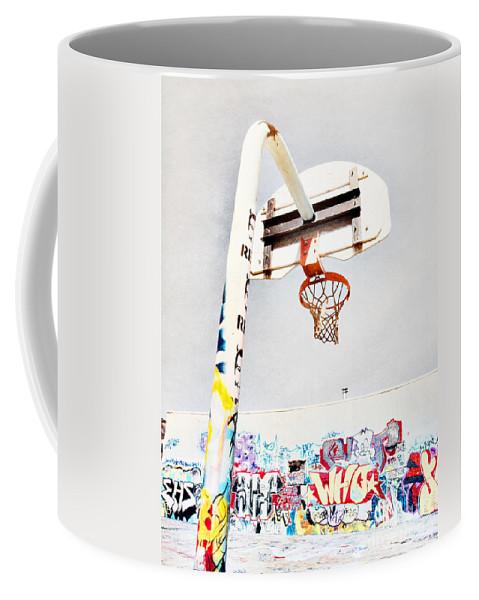 Basketball Coffee Mug featuring the photograph March 23 2010 by Tara Turner
