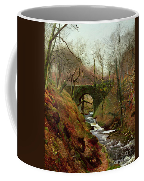 March Coffee Mug featuring the painting March Morning by John Atkinson Grimshaw