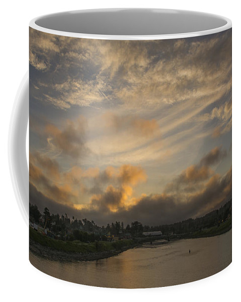 Sunset Coffee Mug featuring the photograph March Sunset by Bruce Frye