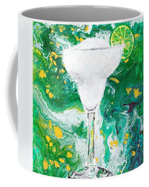 Drink Coffee Mug featuring the painting Margarita by Stormy Miller