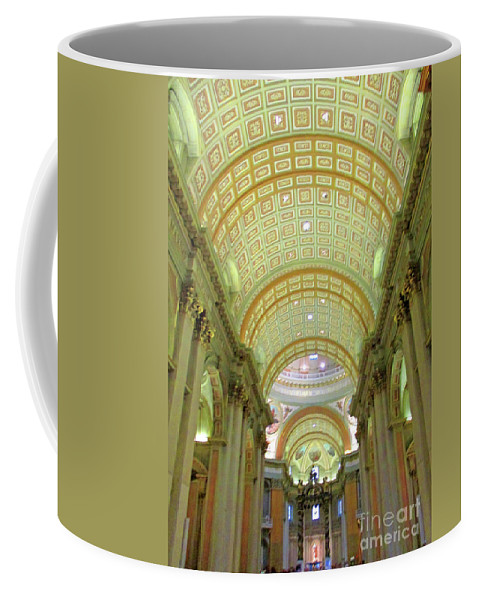 Montreal Coffee Mug featuring the photograph Marie Reine Du Monde 4 by Randall Weidner