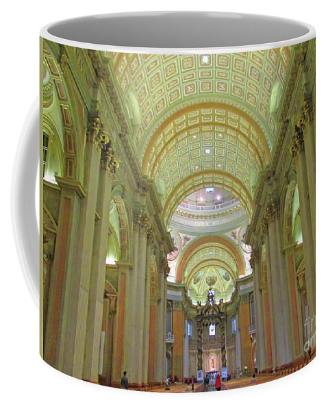 Montreal Coffee Mug featuring the photograph Marie Reine Du Monde 5 by Randall Weidner