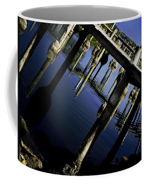 Marina Coffee Mug featuring the photograph Marina by Kelly Jade King
