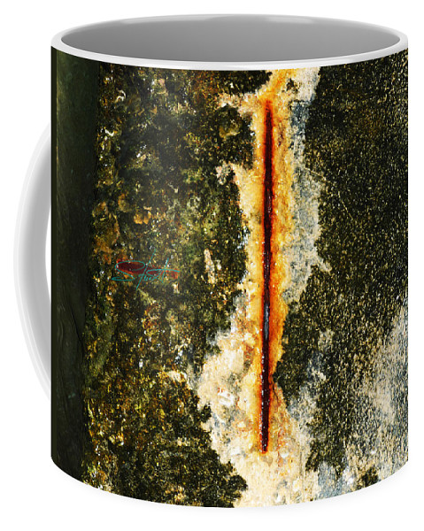 Erotic Coffee Mug featuring the photograph Marine Obsession by Charles Stuart