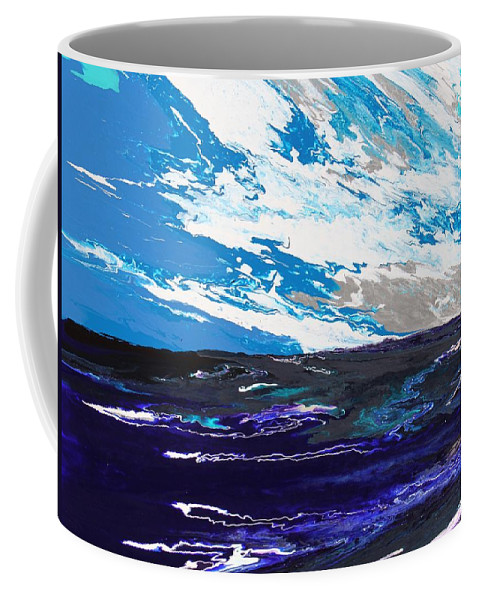 Fusionart Coffee Mug featuring the painting Mariner by Ralph White