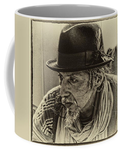Pike Place Market Coffee Mug featuring the photograph Market Vendor by David Patterson