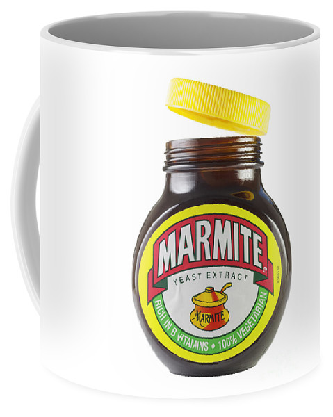 Marmite Coffee Mug featuring the photograph Marmite by Julie Woodhouse