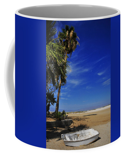 Marooned Coffee Mug featuring the photograph Marooned by Skip Hunt