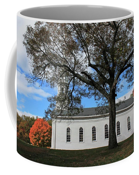 Architecture Coffee Mug featuring the photograph Martha Mary Chapel In Sudbury Ma 2 by Michael Saunders
