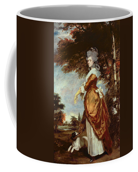 Woman Coffee Mug featuring the painting Mary Amelia First Marchioness Of Salisbury by Sir Joshua Reynolds