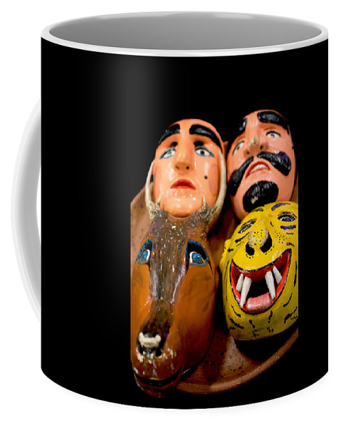 Mask Coffee Mug featuring the photograph Mascaras 4 by Totto Ponce