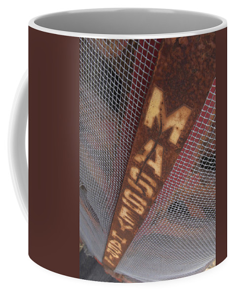 Massey Harris Coffee Mug featuring the photograph Masey Harris by Jeffery Ball