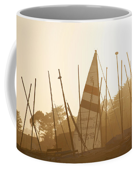 Ship Coffee Mug featuring the photograph Mass Of Ships by Marilyn Hunt
