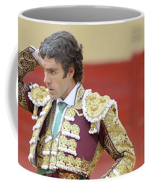 Spain Coffee Mug featuring the photograph Matador Jose Tomas IIi by Rafa Rivas