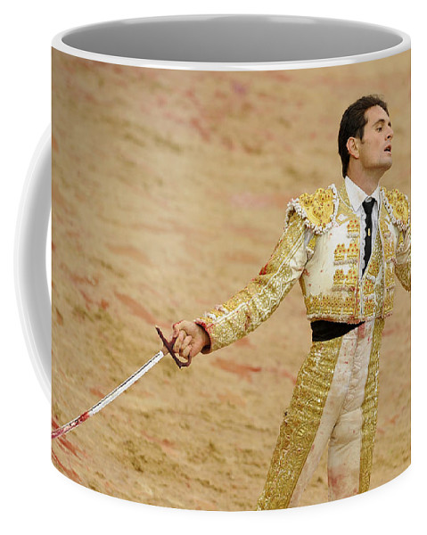 Spain Coffee Mug featuring the photograph Matador Joselillo II by Rafa Rivas