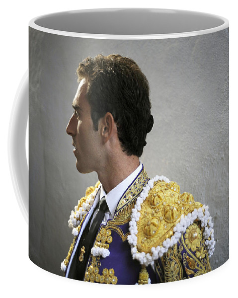 Spain Coffee Mug featuring the photograph Matador Salvador Cortes I by Rafa Rivas