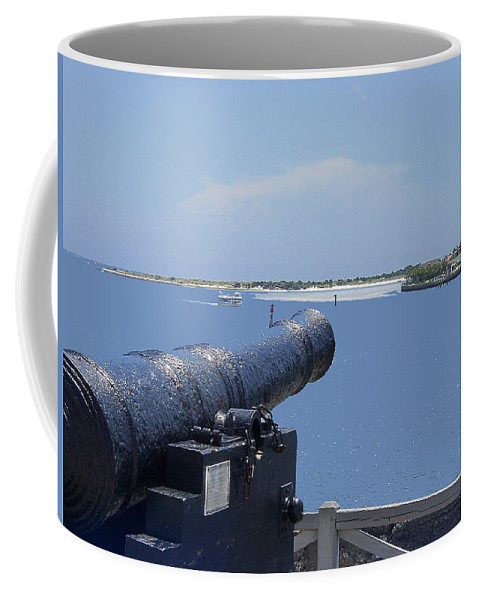 Landscape Coffee Mug featuring the photograph Matanzas Inlet by Kenneth Albin