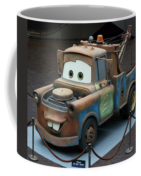 Mater Coffee Mug featuring the photograph Mater MP by Thomas Woolworth