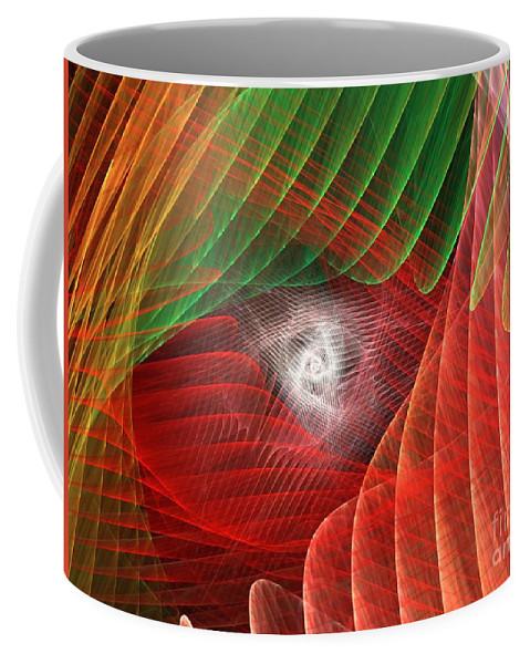 Apophysis Coffee Mug featuring the digital art Matrix by Kim Sy Ok
