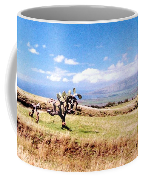 1986 Coffee Mug featuring the photograph Maui Upcountry by Will Borden