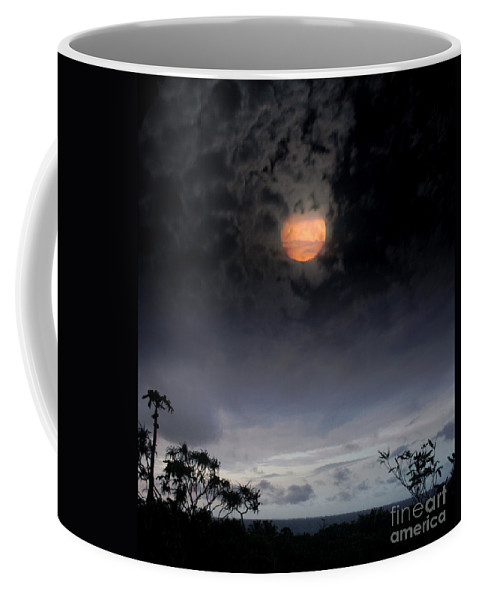 Aloha Coffee Mug featuring the photograph Maunaleo Journey With Spirit by Sharon Mau