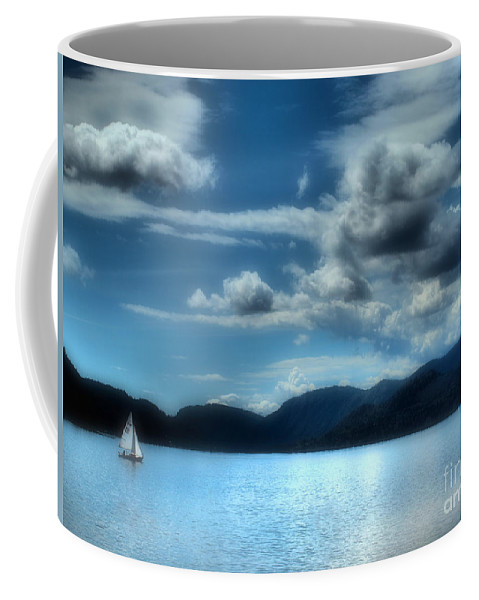 Lake Coffee Mug featuring the photograph May 30 2010 by Tara Turner