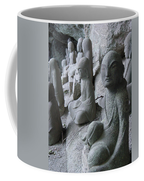 Statues Coffee Mug featuring the photograph May I Help You by D Turner