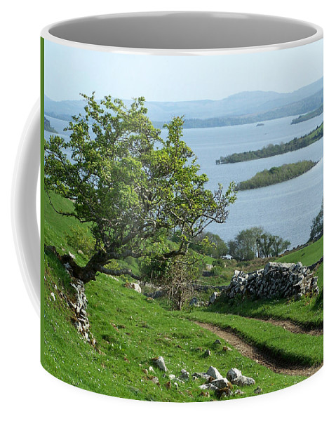 Ireland Coffee Mug featuring the photograph May The Road Rise To Meet You by Teresa Mucha