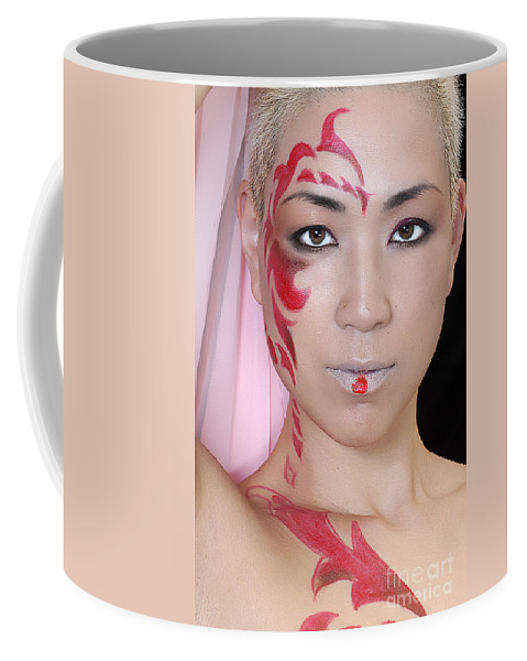 Clay Coffee Mug featuring the photograph Mayan by Clayton Bruster