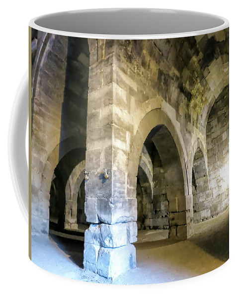 Maze Of Arches Coffee Mug featuring the photograph Maze Of Arches by Phyllis Taylor