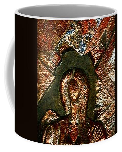 Ceramic Coffee Mug featuring the relief Maze Of Memories by Madalena Lobao-Tello