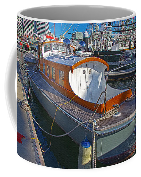 Mb 172 Epic Lass Coffee Mug featuring the photograph Mb 172 Epic Lass In Darling Harbour by Miroslava Jurcik