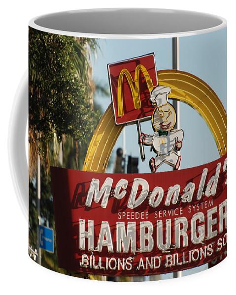 Mcdonalds Coffee Mug featuring the photograph Mc Donalds by Rob Hans