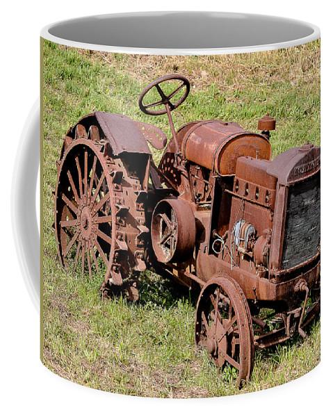 Mccormick-deering Coffee Mug featuring the photograph Mccormick-deering by George Fredericks