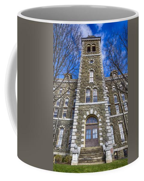 Mcgraw Hall Coffee Mug featuring the photograph Mcgraw Hall - Cornell University by Stephen Stookey